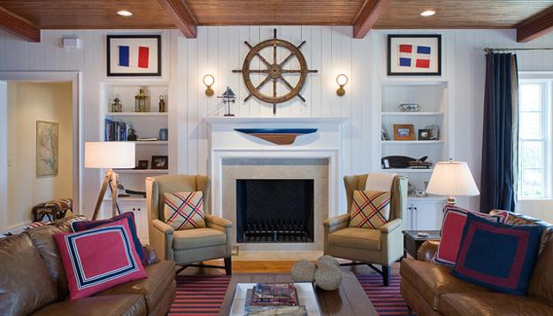 Anyone Who Spends That Long Around Grubby Decor Would Be Bound To Feel A  Little Stressed, Frazzled, Or Annoyed. Luckily, Swapping It Out With Nautical  Decor ...