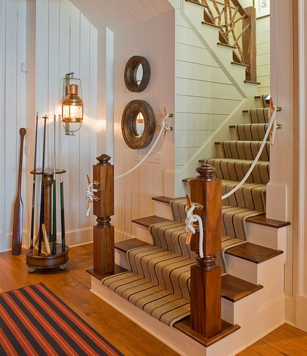 Why should you replace your interior design with nautical for Nautical home decorations